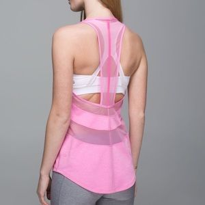 Lululemon If You're Lucky Tank Pink size 8